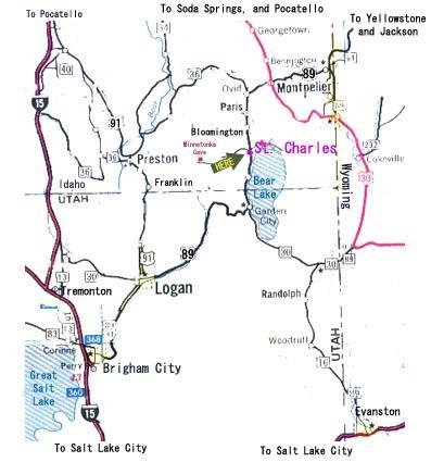 Rv Parks Utah Map.Bear Lake North Rv Park